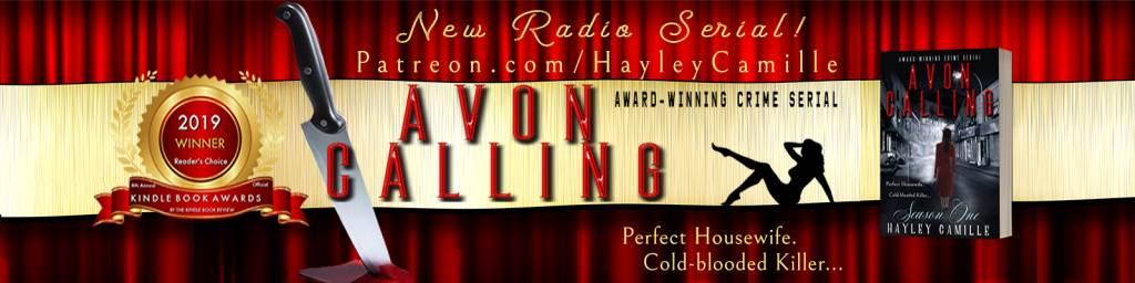 Visit my Patreon page for a backstage pass to the new Avon Calling Radio Serial - a crime fiction podcast with a vintage twist!